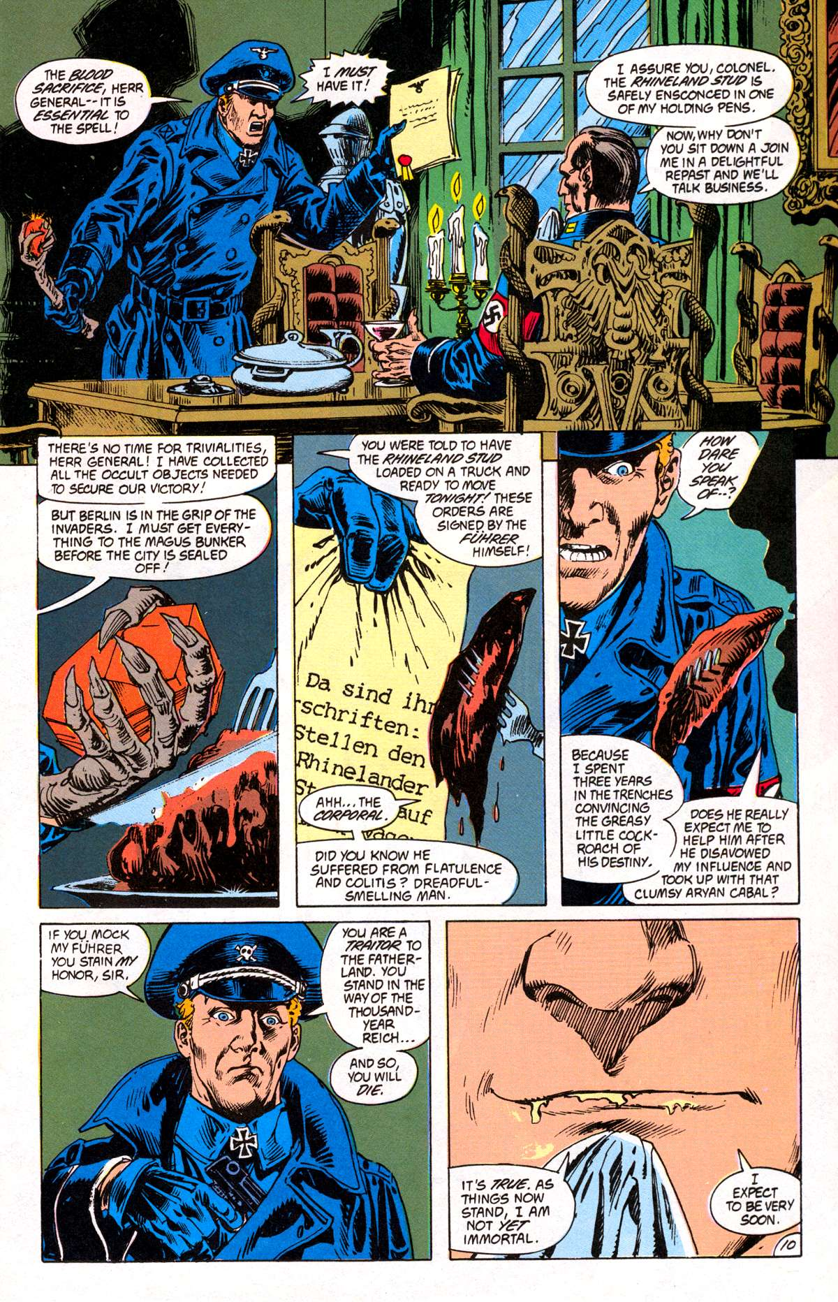 Swamp Thing (1982) Issue #82 #90 - English 11