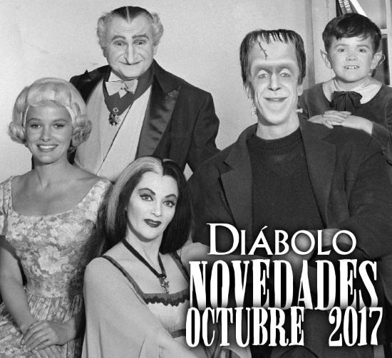 Diábolo Ediciones: Novedades Octubre 2017