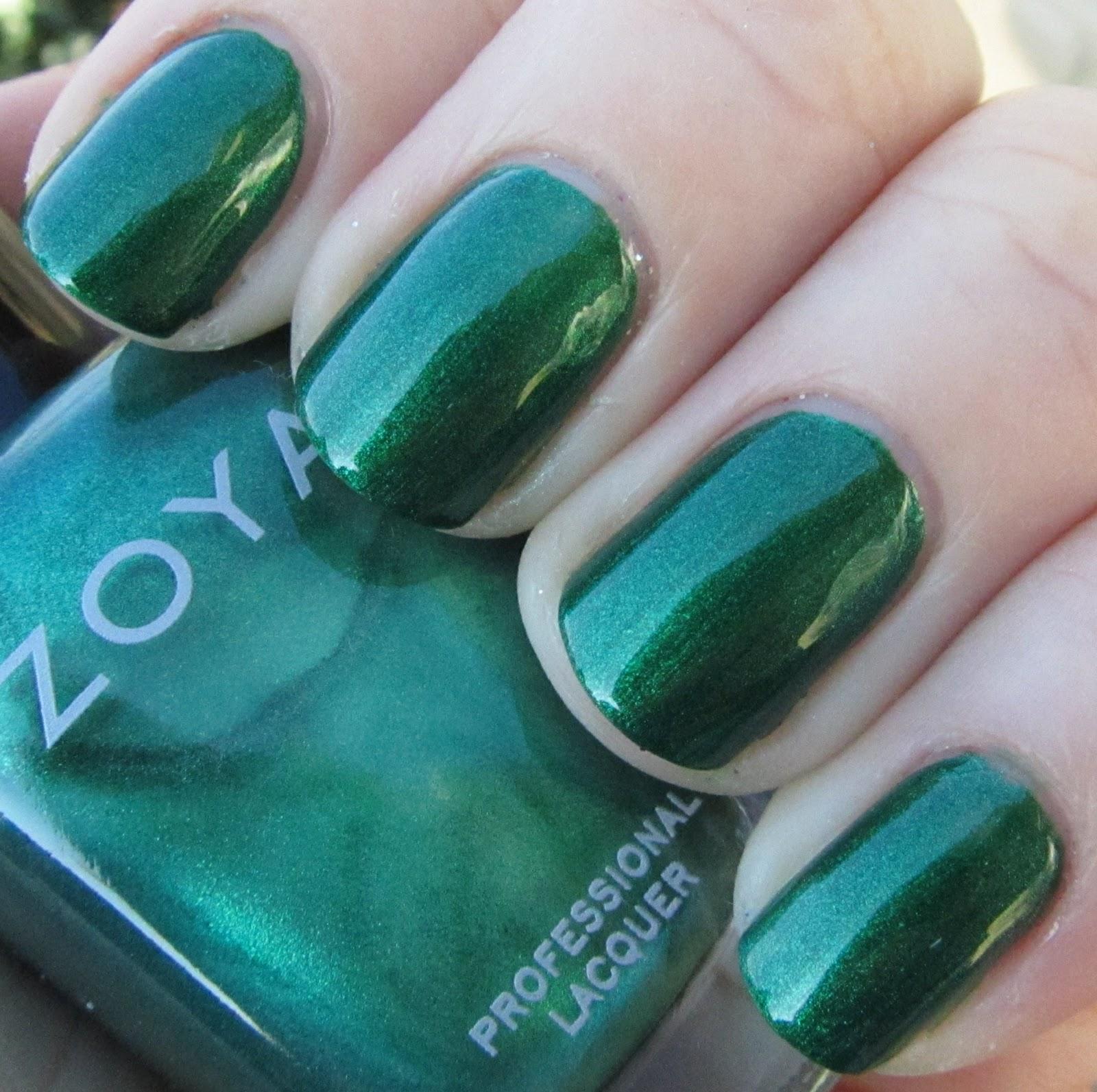 Holiday Nails Jlt: Polishology: Zoya Gems And Jewels