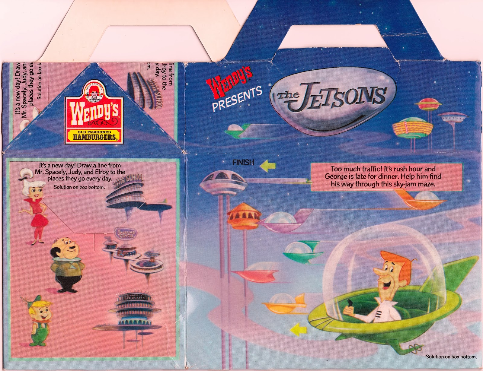 Ride On Toys For Older Kids >> Toys and Stuff: Wendy's 1989 The Jetsons Special Edition ...