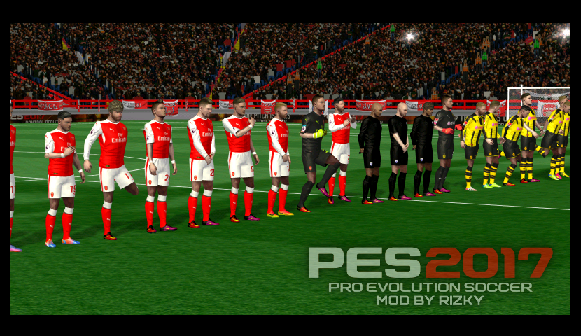 ANDROID. First Touch Soccer Mod PES 2017 Rizky Arsenal ...