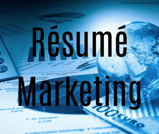 Cours et Résumé Marketing