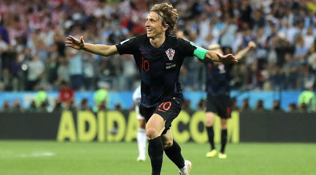 cariera lui Luka Modric