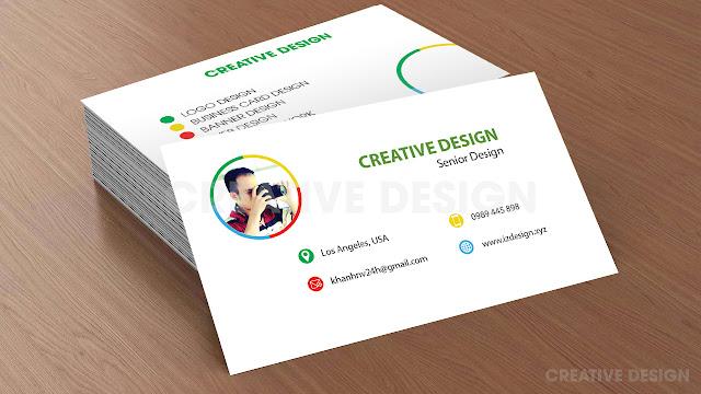 thiet ke namecard, business cards design 1