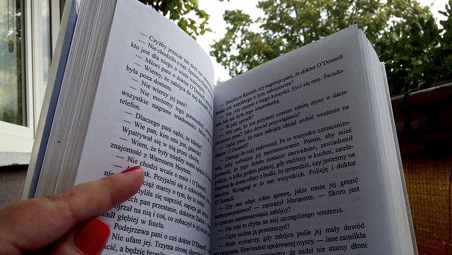 czytam, książki