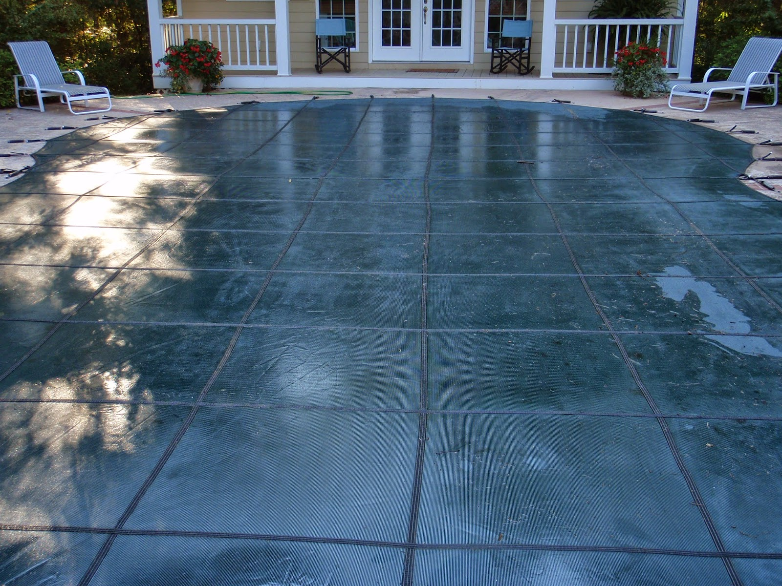 Mesh Vs Solid Safety Covers America S Swimming Pool
