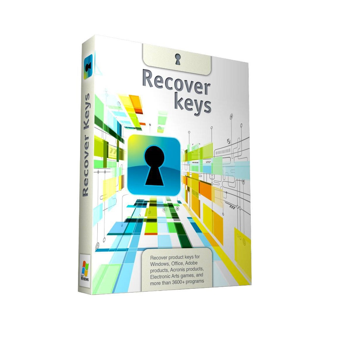 recover keys portable download