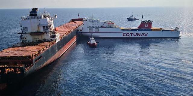 وزير النقل: تونس لن تدفع مليمًا واحدا كتعويضا عن ما سببه إصطدام السفينتين القبرصية والتونسية