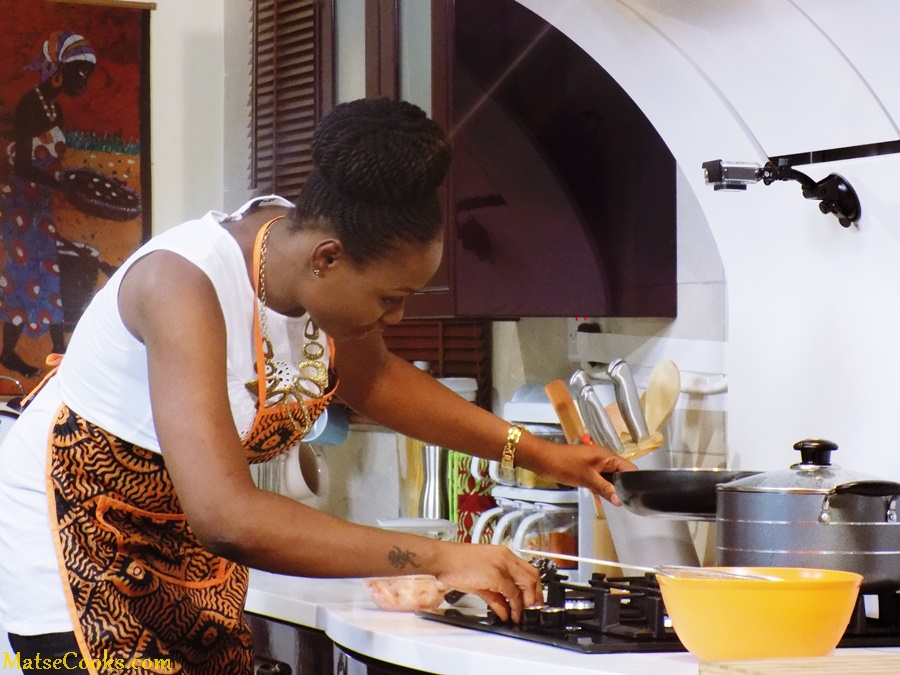 Matse Uwatse is now a successful Food Blogger. (kemifilani.com)