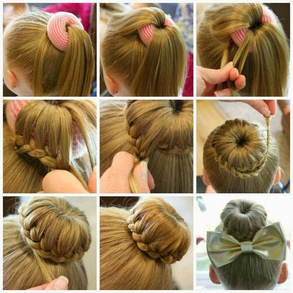 Surprising Make Fancy Bun Hairstyle For Formal Events Tutorial Just Cool Tips Hairstyles For Women Draintrainus