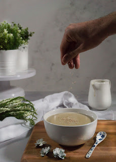 Crema de champiñones vegana receta Thermomix