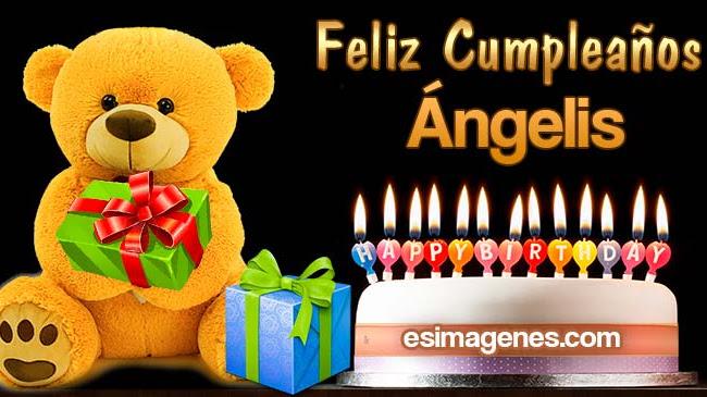 Feliz Cumpleaños Ángelis