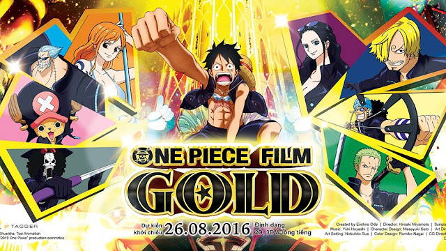 One Piece Film Gold (2016) Bluray [Dub Jep] Subtitle Indonesia