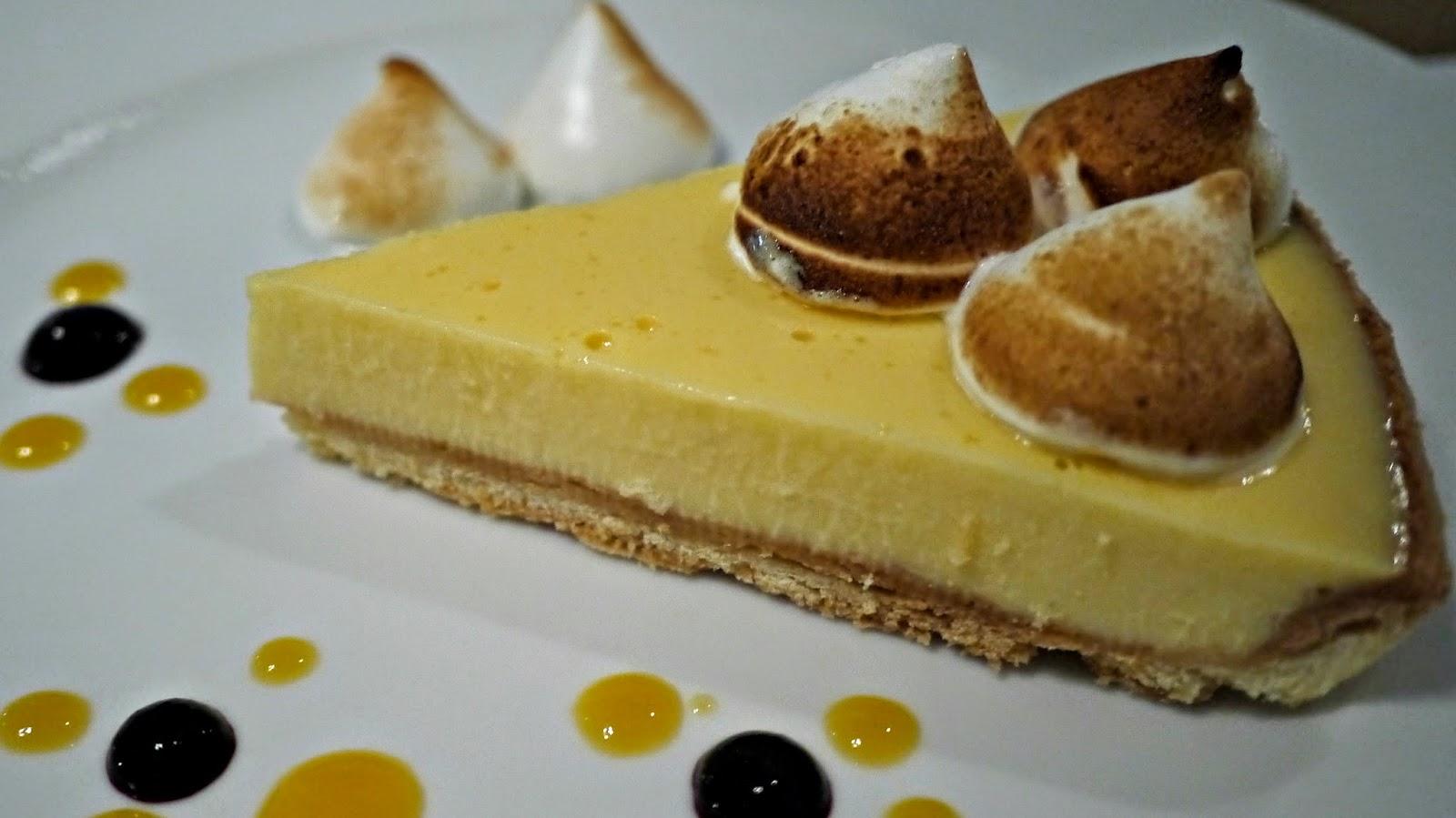 Bigfish seafood restaurant budapest lemon meringue