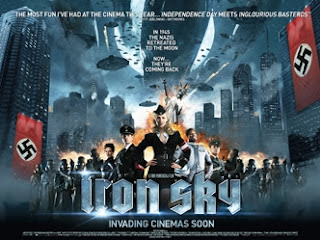 Iron Sky UK movie quad poster