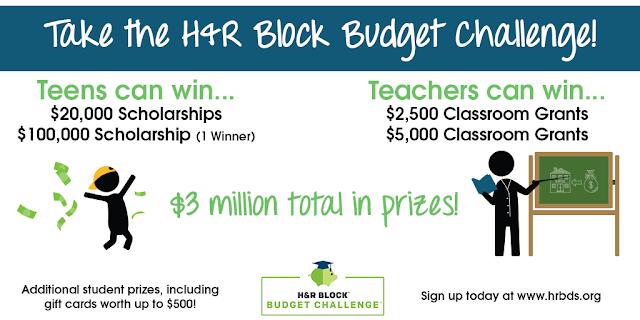 Kathy Schrock s ...H R Block Budget Challenge