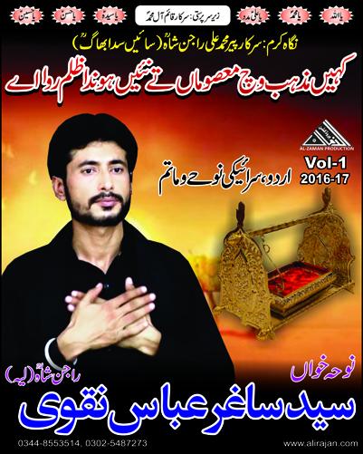 Syed Saghir Abbas Naqvi (Layyah) ~ Nohay 2017
