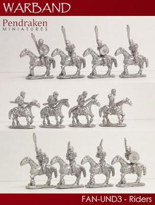 FAN-UND3 - 12 x Riders
