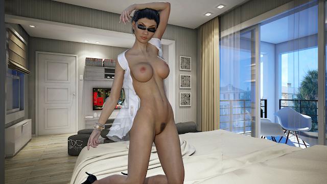 Daz Studio, Daz 3D, 3D Art, 3 Dimensional Art, Artwork, Digital Art, Nude