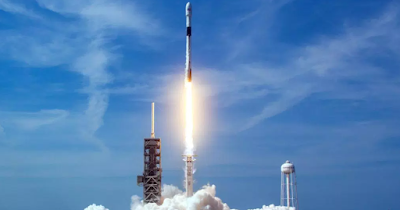 SpaceX launch a new GPS satellite.spacex