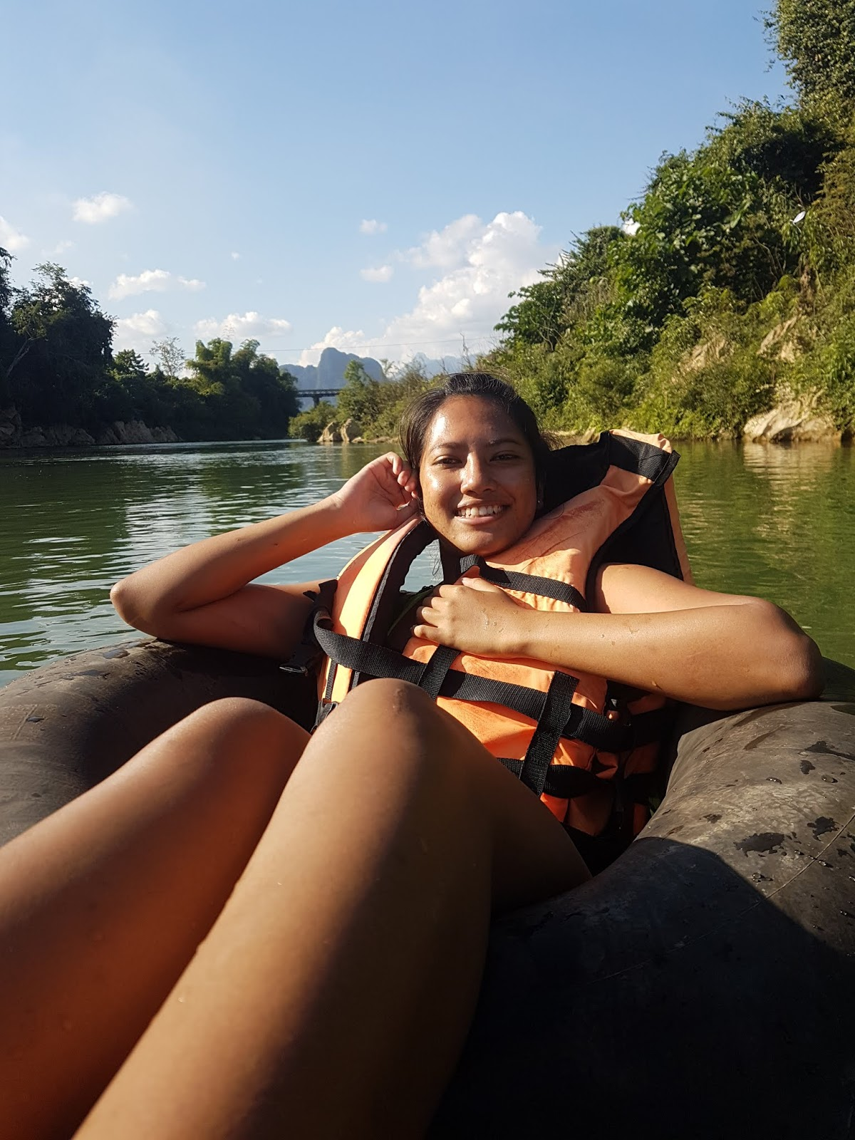 Tubing in Vang Vieng, Laos - Ummi Goes Where?