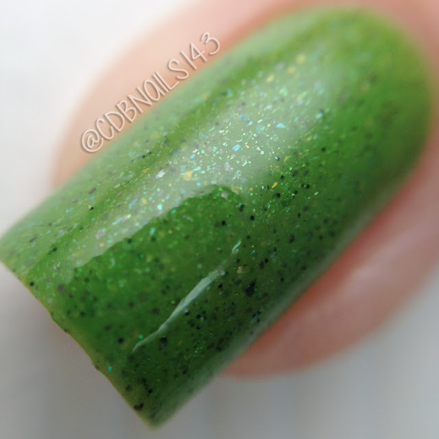 Poetry Cowgirl Nail Polish-St. Augustine Grass