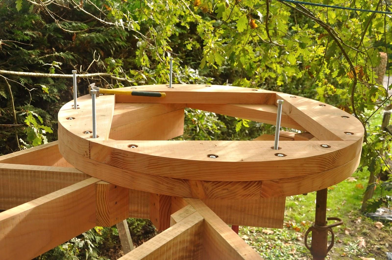 fixation de la structure du plancher cabane 3 la cabane de prout et nonosse. Black Bedroom Furniture Sets. Home Design Ideas