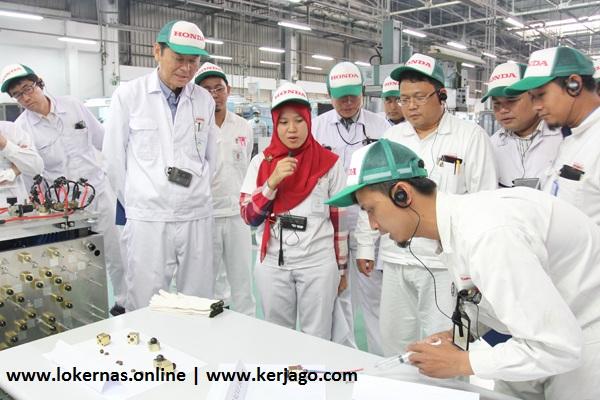 Pekerjaan Lowongan Operator Produksi PT Honda Precision Parts Karawang (Lulusan SMA/SMK/Setara)