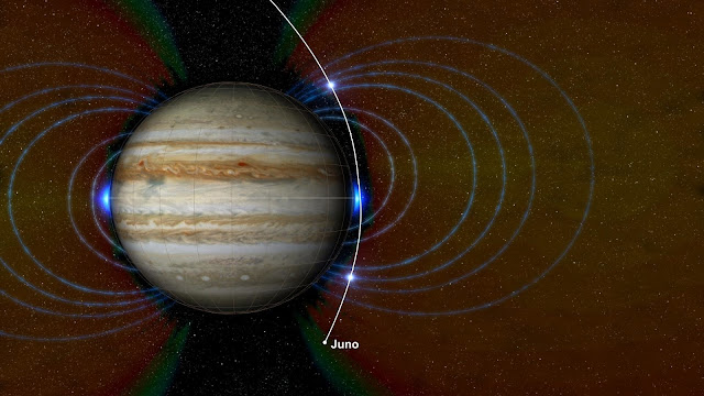 NASA'a Juno probes the depths of Jupiter's great red spot