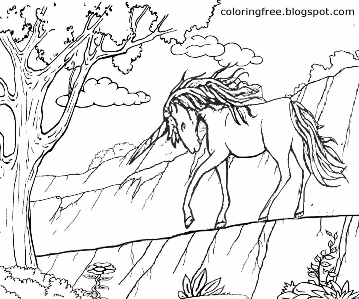 Magical Creatures Pages Coloring Pages