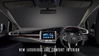 innova crysta interior