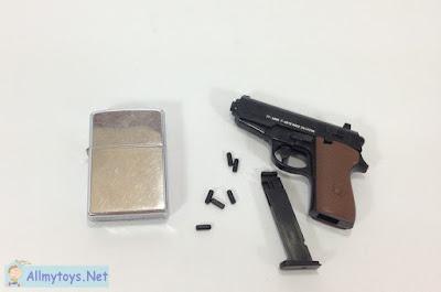 Like real tiny toy pistol gun