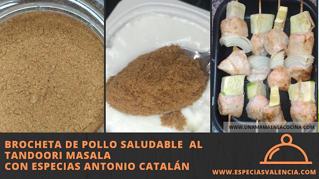 Brocheta pollo tandoori masala especiasvalencia antonio catalan 2
