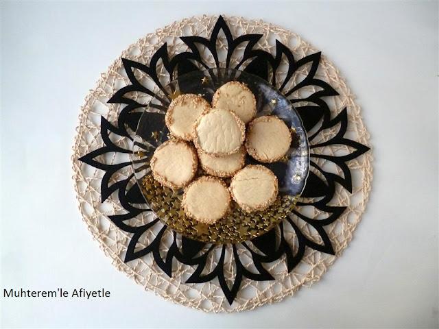 susamlı tahinli kurabiye