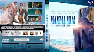 BLURAY MAMMA MIA- 2018 - [COVER DVD]
