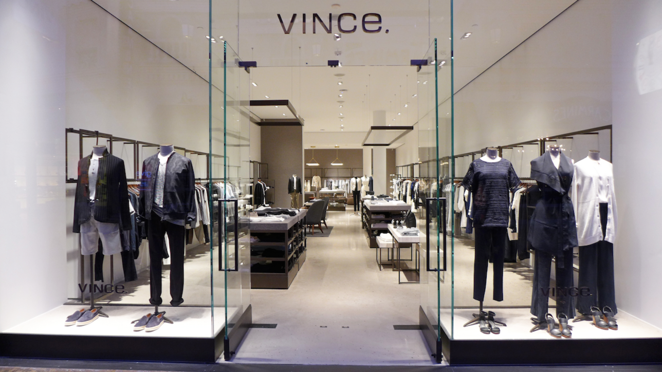 Vince clothing store locations