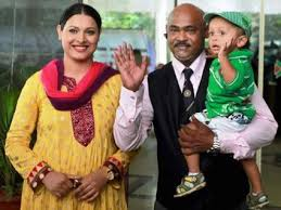 Vinod Kambli Family Wife Son Daughter Father Mother Age Height Biography Profile Wedding Photos