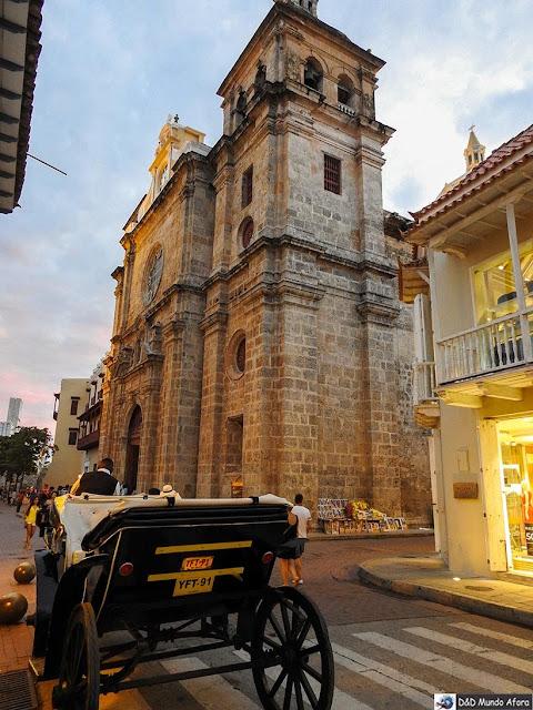 Igreja e Monastério de São Pedro Claver - O que fazer em Cartagena, Colômbia