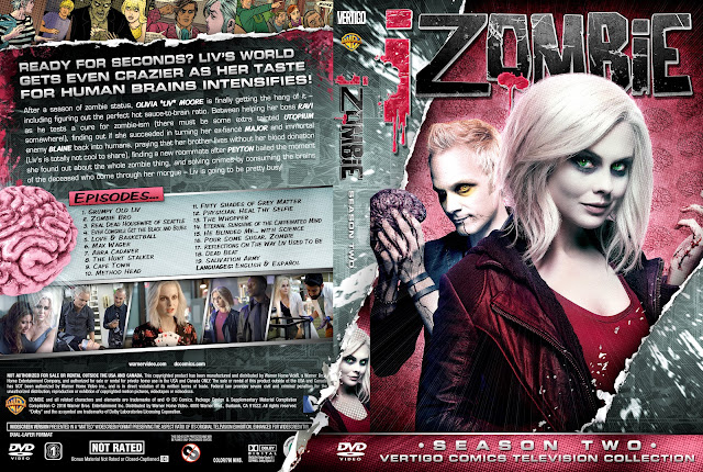 Capa DVD IZombie Segunda Temporada