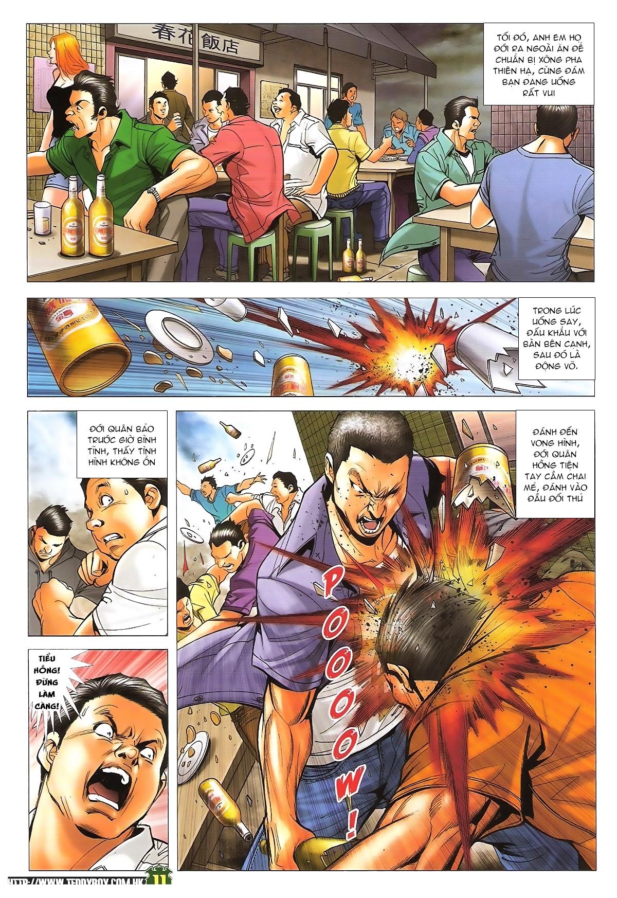 Người Trong Giang Hồ - Ngũ Hổ qui thiên - Chapter 1708: Huynh đệ tình thâm - Pic 10