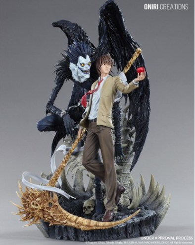 "Abierto pre-order de Light & Ryuk de ""Death Note"" - Oniri Creations"