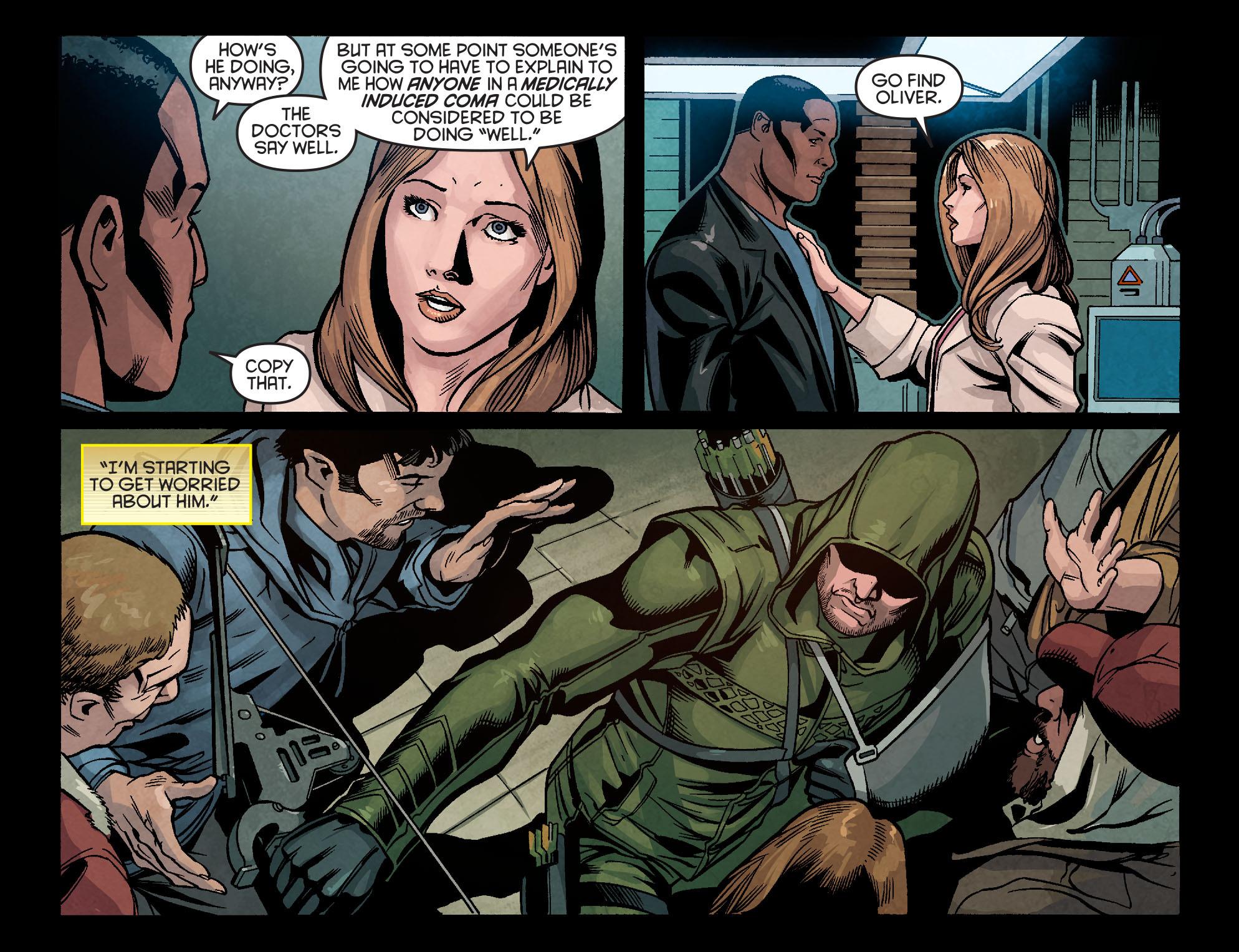 Read online Arrow: Season 2.5 [I] comic -  Issue #5 - 15