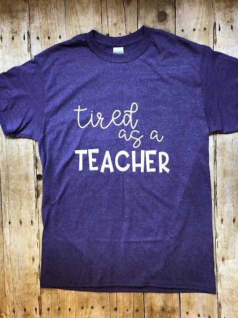 Tired As a Teacher