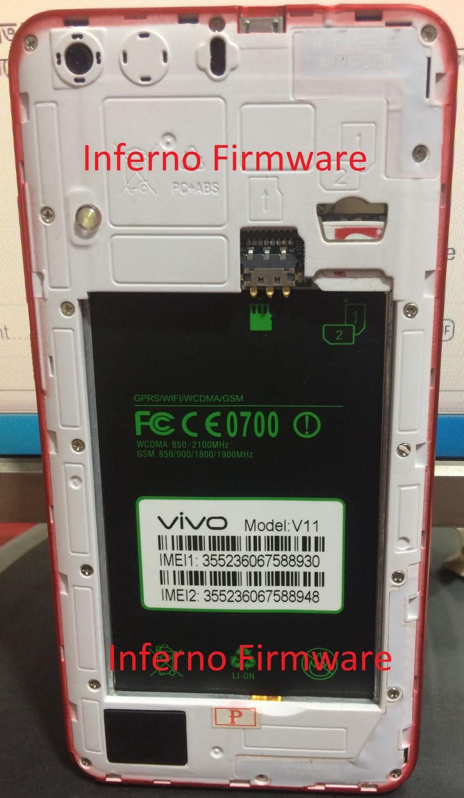 Inferno Firmware: vivo clone v11 MT6580 flash file