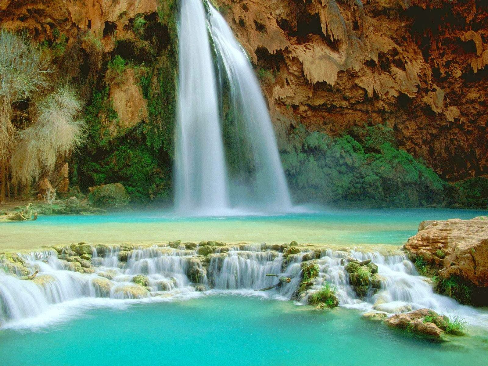 HD Wallpapers 3D Waterfall Wallpapers