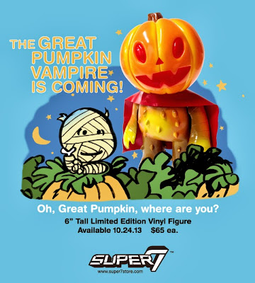 The Great Pumpkin Vampire Vinyl Figure by Super7 & Josh Herbolsheimer