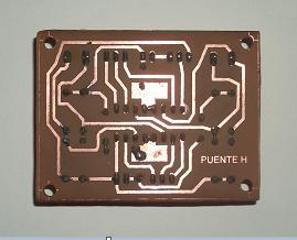 Kit circuito puente H PCB.