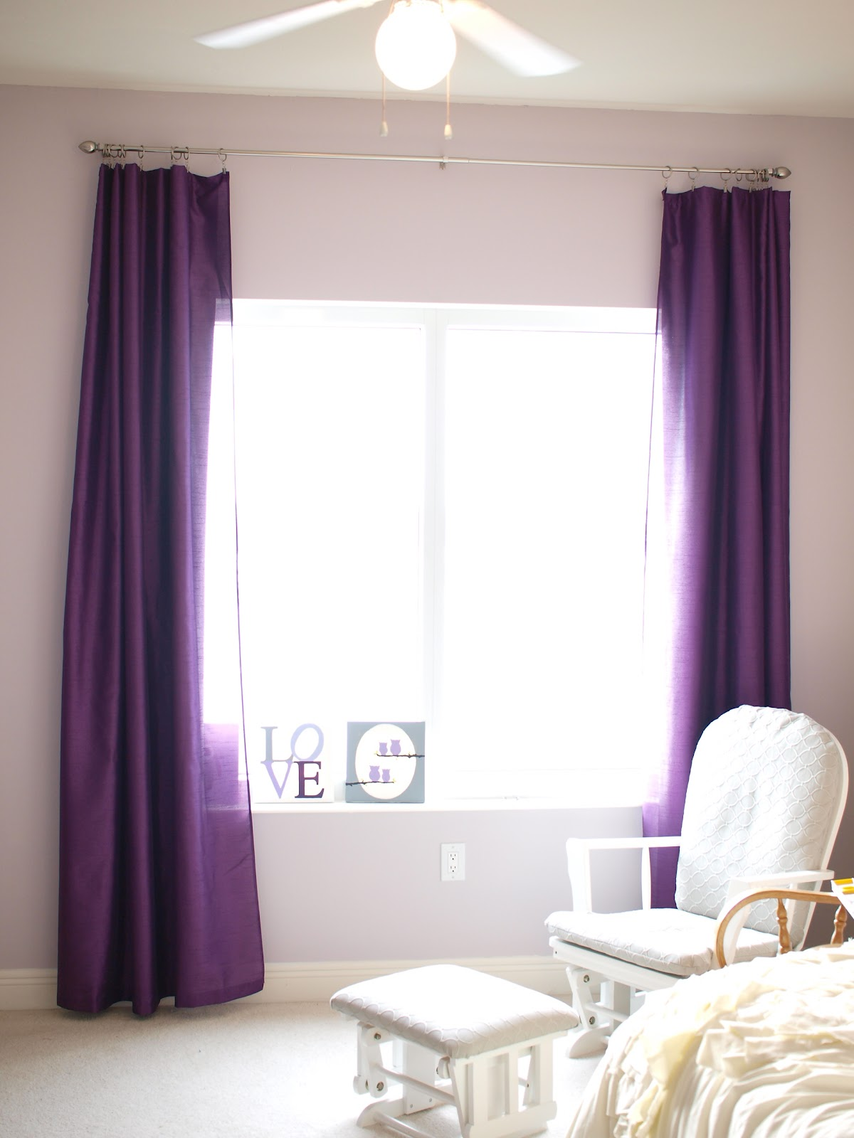 Baby Bedroom Curtains Blackout: Our Own Kind Of Paradise: ::Baby G:: DIY Blackout Curtains