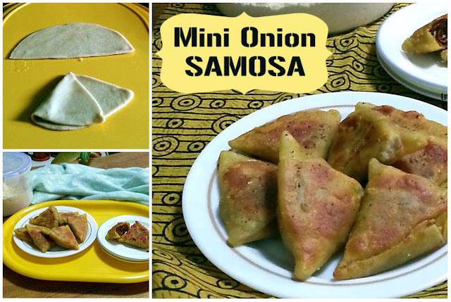 Mini Onion Samosa Recipe @ treatntrick.blogspot.com