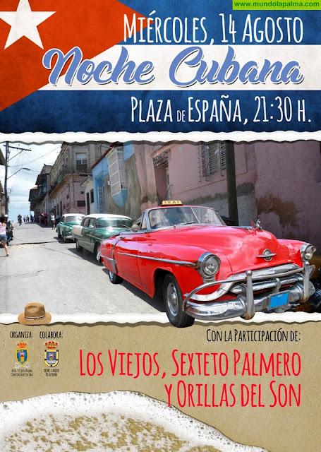 El Ayuntamiento de Santa Cruz de La Palma organiza la 8ª edición de la 'Noche Cubana'